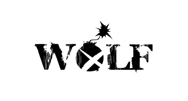 Logotyp zespołu rockowego Wolf