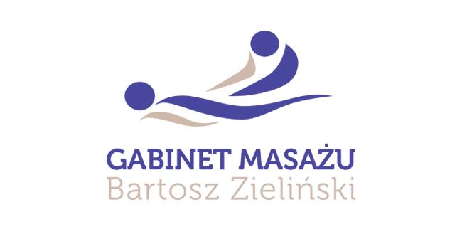 Logotyp dla gabinetu masażu